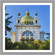 Adsy Bernart  photographer architecture photography, vienna, otto wagner, steinhof, church, Austria